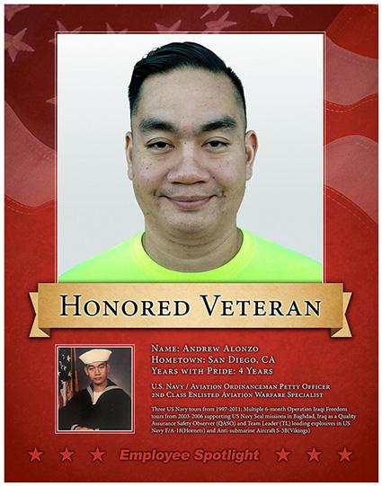 Andrew Alonzo - Veteran