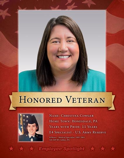 Christina Cowger - Veteran