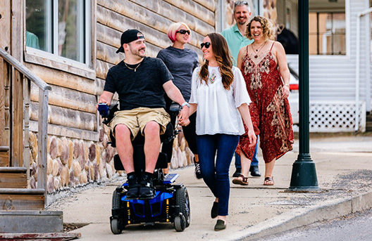 Quantum Rehab® | The Rehab Power Chair & Custom Wheelchair Company
