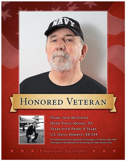 Jack McGinnis - Veteran