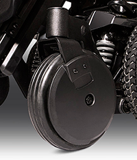 "NEW 8"" caster wheels: Now available on the Q6 Edge® 2.0"