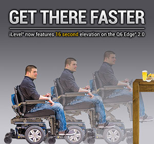 Get there faster - iLevel now features 16 second elevation on the Q6 Edge 2.0