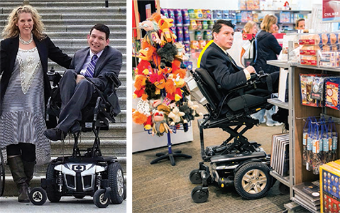 Mark around town, shopping